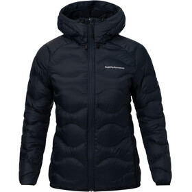 Peak Performance Helium Down Hood Jacket Women Salute Blue